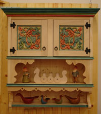 Dovre Cabinet with Acanthus Panels